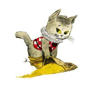 regard chat potté
