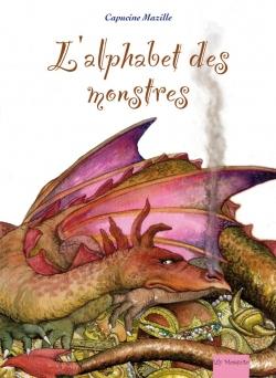 Couverture de l'alphabet des monstres