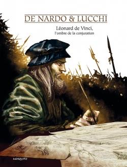 couverture de L閛nard de Vinci, l'ombre de la conj