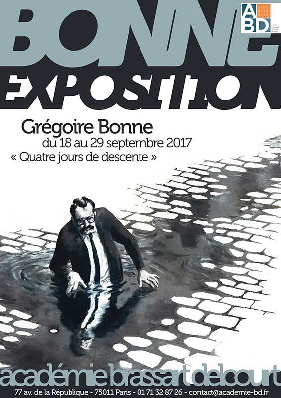 exposition de Grégoire Bonne