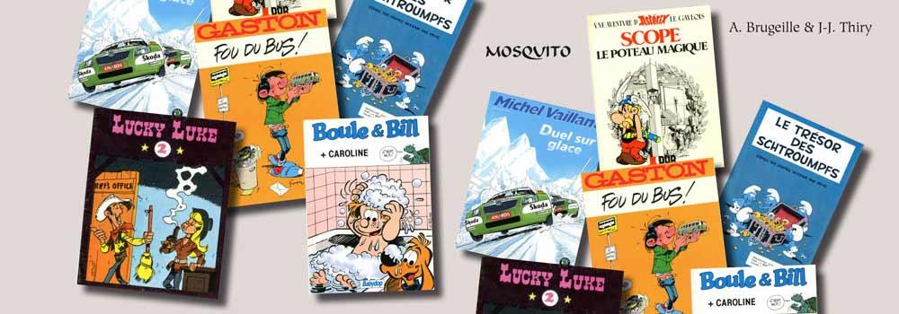 BD publicitaires - Carousel