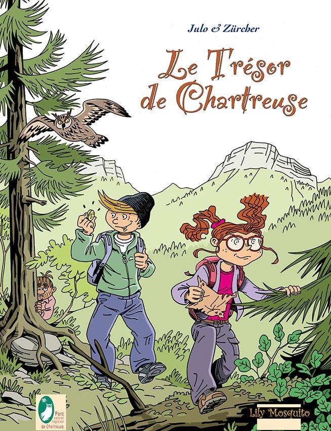 Couverture de Trésor de Chartreuse