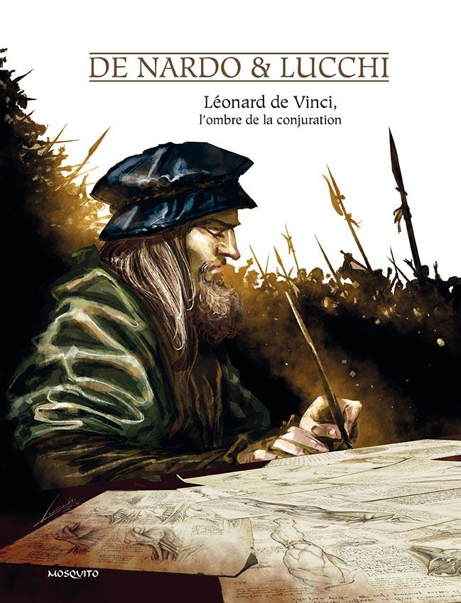 couverture de Léonard de Vinci, l'ombre de la conj