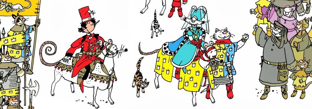 Le royaume des chats - carousel
