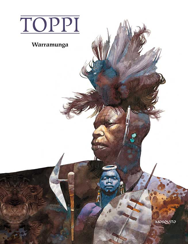 Couverture de Warramunga