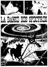 La danse des spectres - planche 1