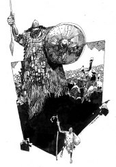 David et Goliath 1