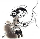 Gaston par Derib