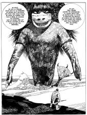 Planche de Un Dieu Mineur de Toppi