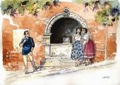 Nero à la fontaine