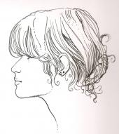 Silvina Pratt par Manara