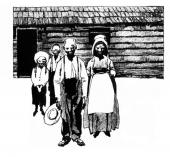famille noire américaine