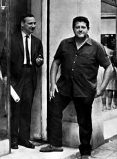 Hugo Pratt et Dino Battaglia
