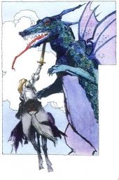 Sait Georges et le Dragon