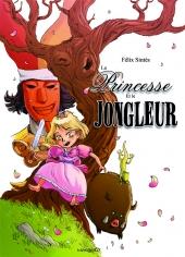 couverture La princesse et le jongleur