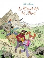 Couverture du Grand Défi des Alpes