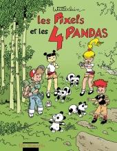 couverture les pixels et les 4 pandas