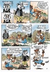 Renard et Blérô - planche  2