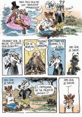 Renard et Blérô - planche  3