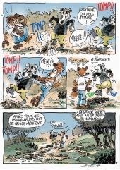 Renard et Blérô - planche  4