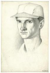 Toppi autoportrait à 18 ans