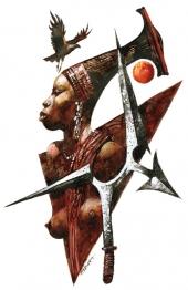 Guerrière africaine